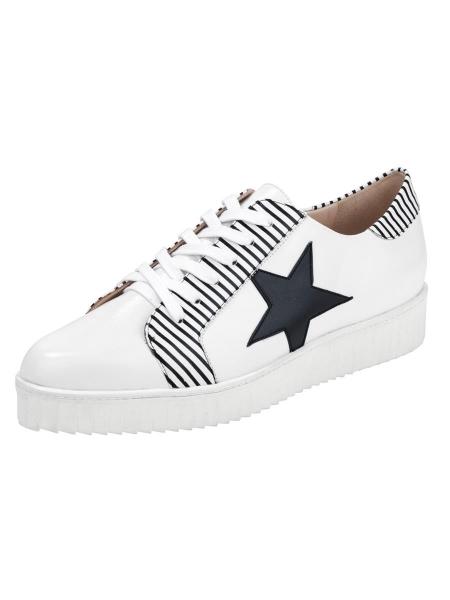 heine Schnürer Hand gefertigt Sneaker-Optik