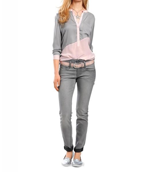 e0f8cbdbf0bd8 heine Best connections CASUAL Jeans schimmernd GR.36